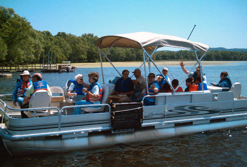 Pontoon Boat Fishing and Lake Tours