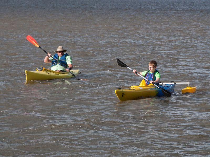 Nasa Squirrel - Adaptive Kayaking Programs